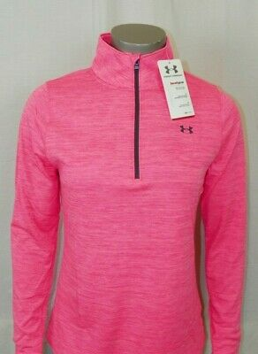 Women's Under Armour Heatgear 1//2 Zip Loose-Fit New With Tags