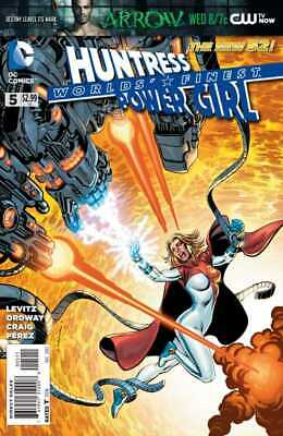 Worlds Finest #5 The New 52 Power Girl Huntress