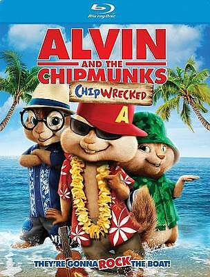 Alvin and the Chipmunks: Chipwrecked (Blu-ray Disc, 2012, 2-Disc Set)