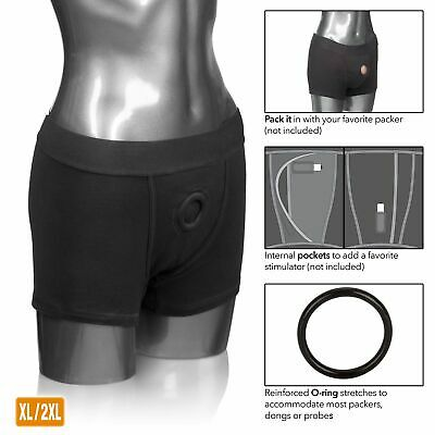 d0d2d866 PACKER GEAR BLACK Boxer Brief Harness - Large / Extra Large - $19.84 ...