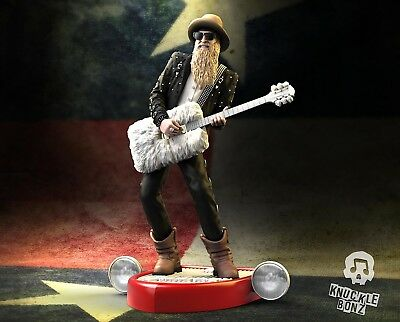 Billy F Gibbons Rock Iconz™ Statue Direct from KnuckleBonz