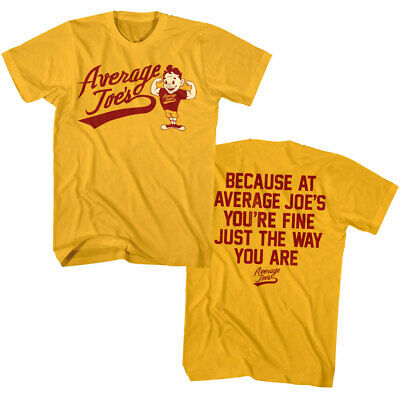 OFFICIAL DodgeBall Average Joe's Gym Men's Slogan T Shirt