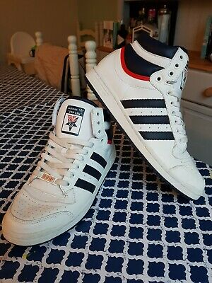 Adidas Original Top Ten 30th Anniversary Edition 80 s Basketball Trainers  UK9 83d0ffcdf