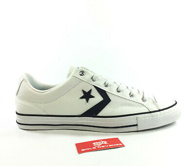 5a9acbebcb153b CONVERSE STAR PLAYER OX - Mens Women - 163111C White Black Casual Star Shoes  c1