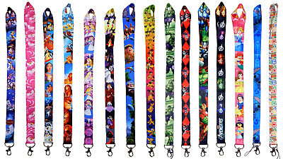Disney and Various Lanyards - Use Lanyard w/ Pin Trading - Huge Selection ~ NEW