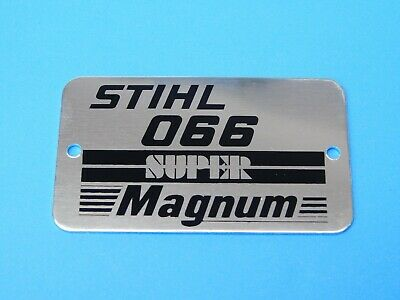 NAME TAG MODEL PLATE FOR STIHL CHAINSAW 026 NEW # 1121 967 1512
