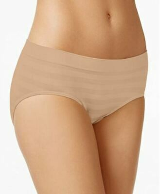 a3ceb6558be Jockey Women s Comfies Matte and Shine Hipster Panties Light Nude Size 9