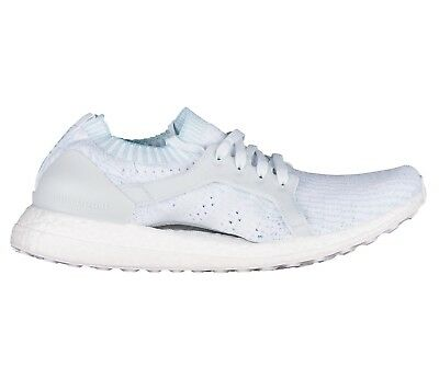 e0fe8427a827d Adidas Ultra Boost X Parley Womens BY2707 Ice Blue White Primeknit Shoes  Size 6