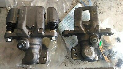 19-978 19-979 Set of 2 Brake Calipers Rear Left Right - No Core Charge !