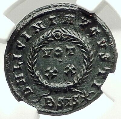 LICINIUS Authentic Ancient 320AD Genuine NGC Certified Roman Coin i76004