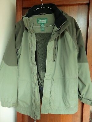 Kids Waterproof Jacket  By L.L. Bean Size 14-16