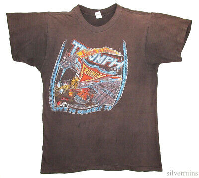 Triumph Vintage T Shirt 70's 1979 Just A Game Tour Concert Hard Rock Band
