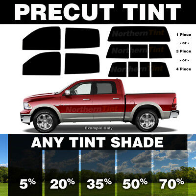 Precut Window Tint for Nissan Frontier Crew Cab 00-04 (All Windows Any Shade)
