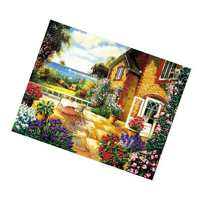 Summer Flower Pattern Ribbon Embroidery Set DIY Ribbon Cross Stitch Painting