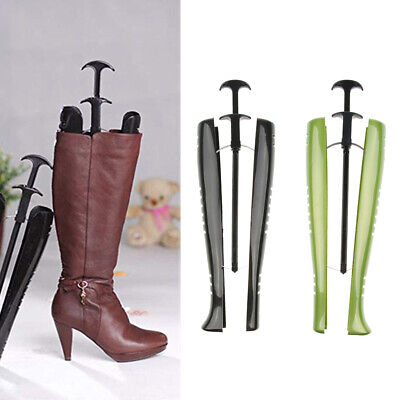 2x Plastic Boots Stands Stretchers Shapers Keepers Shoes Tree 18.9 inch/48cm