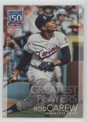 2019 Topps 150 Years of Professional Baseball #150-67 Greatest Players Rod Carew