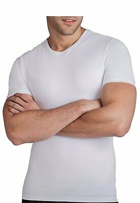 0ffdf57a91a00e NEW Men s Spanx Cotton Compression Crew T-shirt White Size XX-Large 2XL MSRP