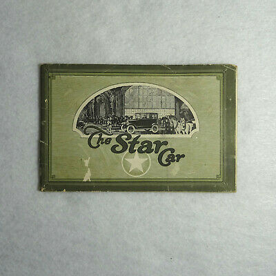 The Star Car W. C. Durant Advertising Brochure 1920s