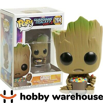 Funko Guardians of the Galaxy Vol 2 - Groot with Candy Bowl Pop! Vinyl Figure