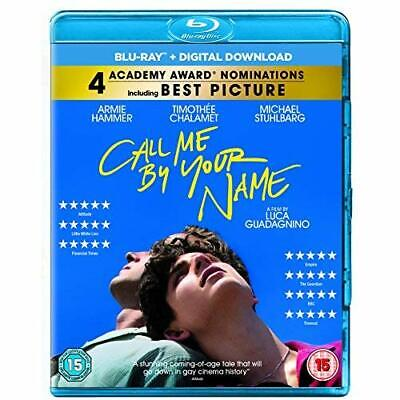 Call Me By Your Name [Blu-ray] [2017] Blu-ray