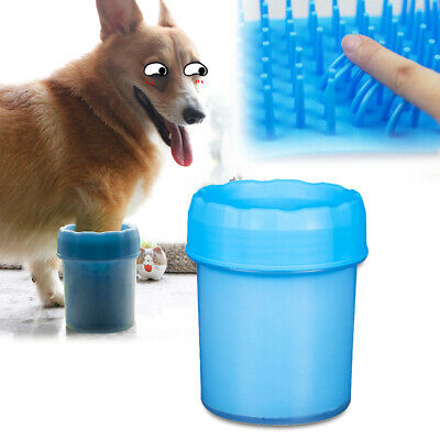 Portable Pet Paw Plunger Mud Cleaner Washer Mudbuster Dog Cat Pet Paw Brush UK