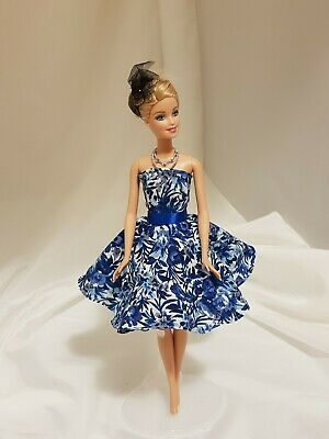 Dolls blue outfit for your Barbie (Australian local made) #BM76