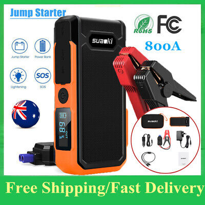SUAOKI 1200A 16000mAh Car Jump Starter Auto Battery Booster Power Phone Charger