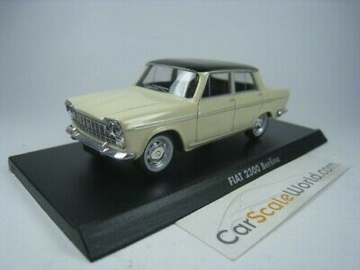 Fiat 2300 Berlina - Seat 1500 1/43 Norev Hachette ( Beige) With Blister