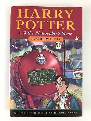 Harry Potter and the Philosophers Stone J K ROWLING 1st Edition 14th Print HB