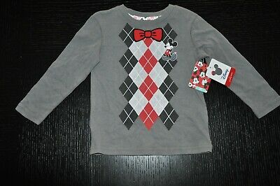 NWT Mickey Mouse JUMPING BEANS long sleeve DISNEY WORLD toddler 2T t-shirt