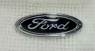 FORD Mondeo Transit Fusion BLACK Emblem Badge Logo Rear Boot Trunk 150mm x 60mm