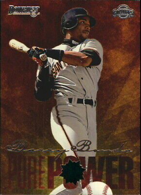 s0217 - 1996 Donruss Pure Power #2 Barry Bonds Giants NM-MT