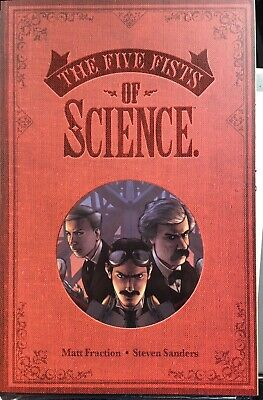 The Five Fists Of Science Collection Matt Fraction Image 2017