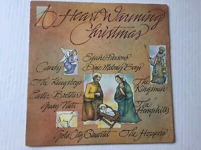 A Heart Warming Christmas 1984 LP SEALED gospel GOLD CITY KINGSMEN ect+bonus CD