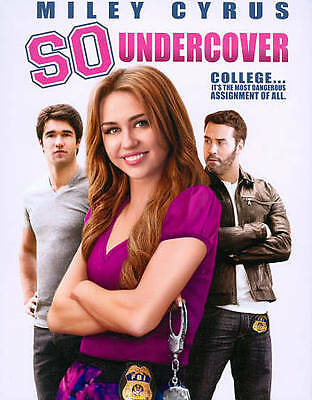 SO UNDERCOVER (Blu-ray Disc, 2013) WITH SLEEVE