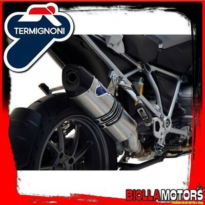 Bw12080Tv Silenziatore Termignoni Bmw R 1200 Gs 2014- Relevance Inox/Titanio