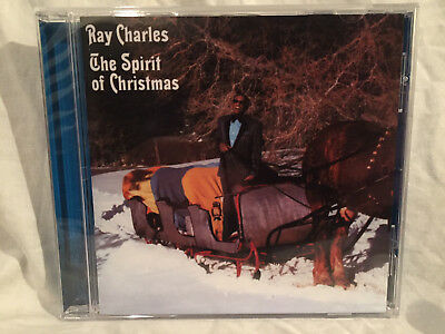 NEW Ray Charles: The Spirit of Christmas (CD,2009,Concord/Universal