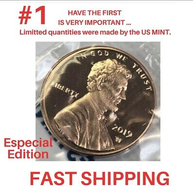 2019 W Lincoln Proof New Premium Penny Westpoint Minted Cent!
