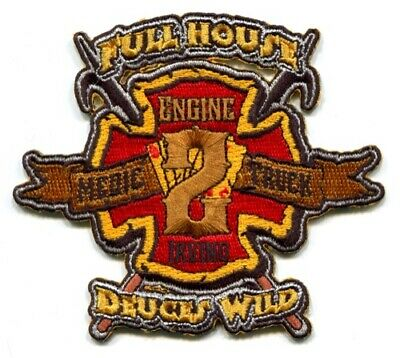 """SC 40 /""""Bottom Dwellers/"""" 4/"""" x 4.5/"""" fire patch Hickory Grove  Station"""
