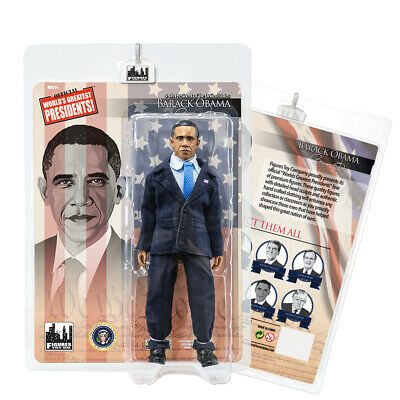 US Presidents 8 Inch Action Figures Series: Barack Obama [Blue Suit]