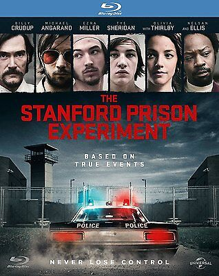 The Stanford Prison Experiment (Blu-ray, Region Free) *BRAND NEW/SEALED*