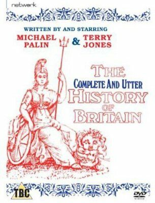 The New Incomplete Complete and Utter History of Britain (Blu-ray, REGION B) NEW