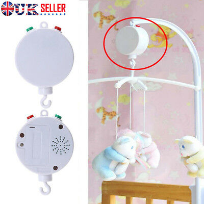 35 Song Bed Bell Kids Crib Musical Mobile Cot Music Box Gift Baby Rattles Toy K