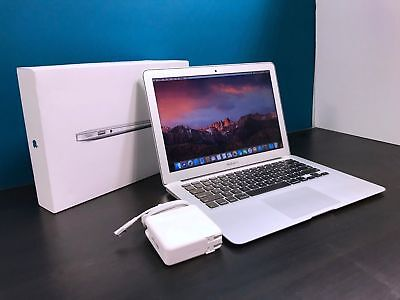 """Apple MacBook Air 13"""" Laptop / 2.6GHz Core i5 / UPGRADED 128GB SSD / OSX-2017"""