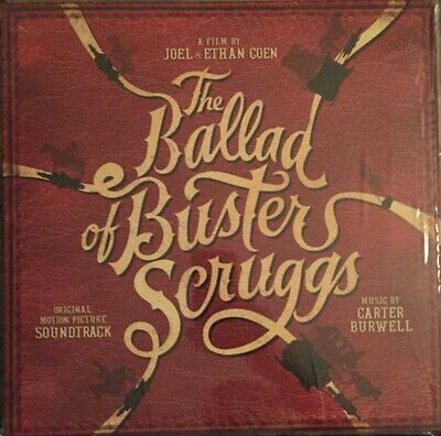 Carter Burwell The Ballad Of Buster Scruggs Vinyl LP New 2018