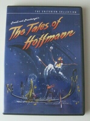 THE TALES OF HOFFMANN Criterion Collection DVD #317