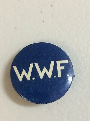 WWF Waterside Workers Federation Button Badge Union, Atkinson Adelaide