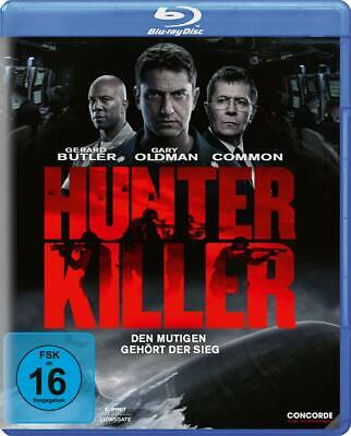 Hunter Killer [Blu-ray] *NEU* DEUTSCH mit Gerard Butler, Gary Oldman, Thornton