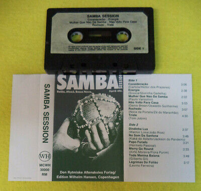 MC compilation SAMBA SESSION Den Rytmiske WH WMWH 30000 RM no cd lp dvd vhs