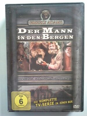 Der Mann in den Bergen . Die komplette  TV-Serie in einer Box. Grizzly Adams: